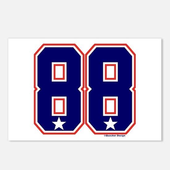 US(USA) United States Hockey 88 Postcards (Package