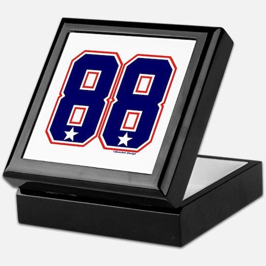 US(USA) United States Hockey 88 Keepsake Box