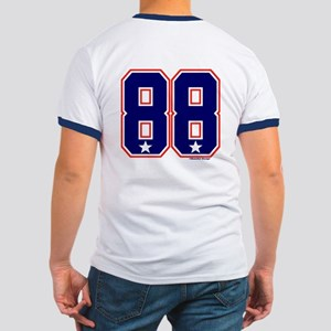 US(USA) United States Hockey 88 Ringer T