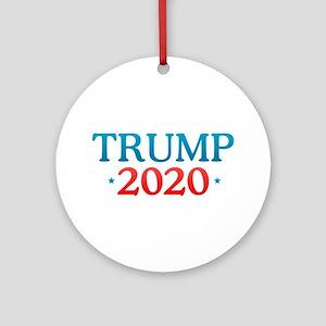 Donald Trump - 2020 Round Ornament