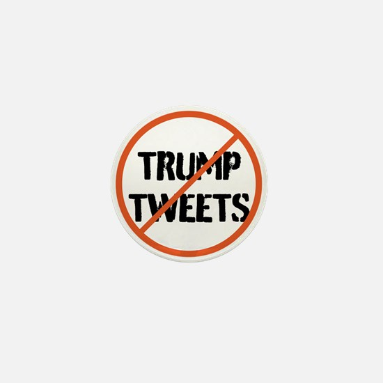 Stop Trump Tweets Mini Button