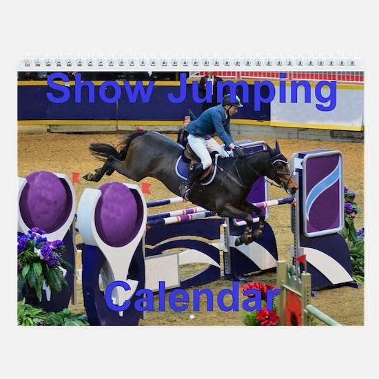 Show Jumping Wall Calendar