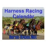 Harness racing Wall Calendars