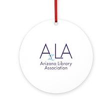 AzLA Logo Round Ornament