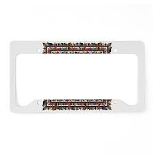 AzLA Bookshelf 1 License Plate Holder