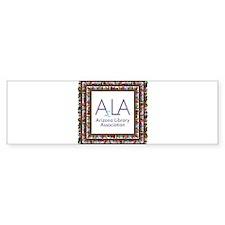AzLA Bookshelf 1 Bumper Sticker
