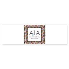AzLA Bookshelf 1 Bumper Bumper Sticker