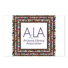 AzLA Bookshelf 1 Postcards (Package of 8)