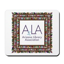 AzLA Bookshelf 1 Mousepad