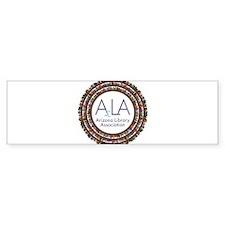 AzLA Bookshelf 2 Bumper Sticker