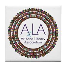 AzLA Bookshelf 2 Tile Coaster