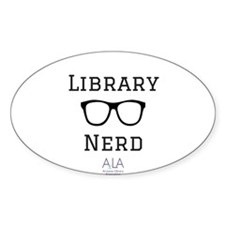 LibraryNerd AzLA Sticker