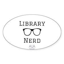 LibraryNerd AzLA Sticker