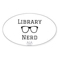 LibraryNerd AzLA Decal