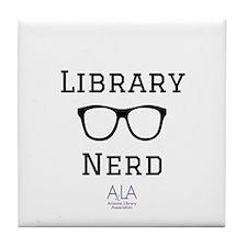 LibraryNerd AzLA Tile Coaster
