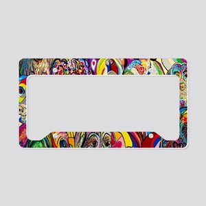 Dogs Dogs DOGS! License Plate Holder