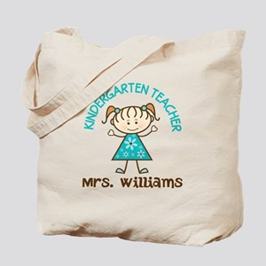 Personalized Kindergarten Teacher Gift Tote Bag