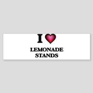 I love Lemonade Stands Bumper Sticker