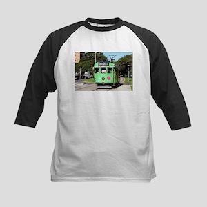 Green Melbourne tram, Australia Baseball Jersey
