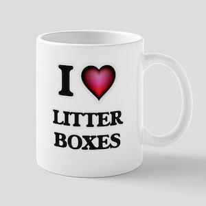 I love Litter Boxes Mugs