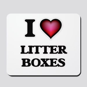 I love Litter Boxes Mousepad