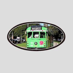 Green Melbourne tram, Australia Patch
