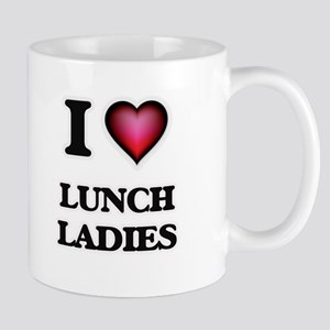 I love Lunch Ladies Mugs