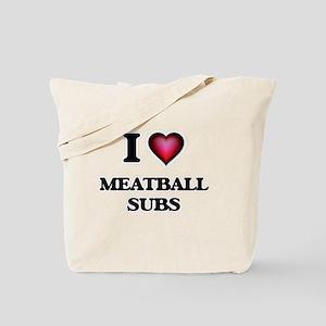 I love Meatball Subs Tote Bag