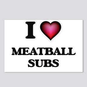 I love Meatball Subs Postcards (Package of 8)