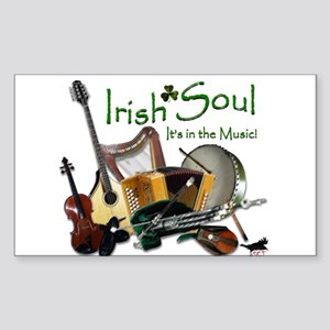 Irish Soul Music Sticker
