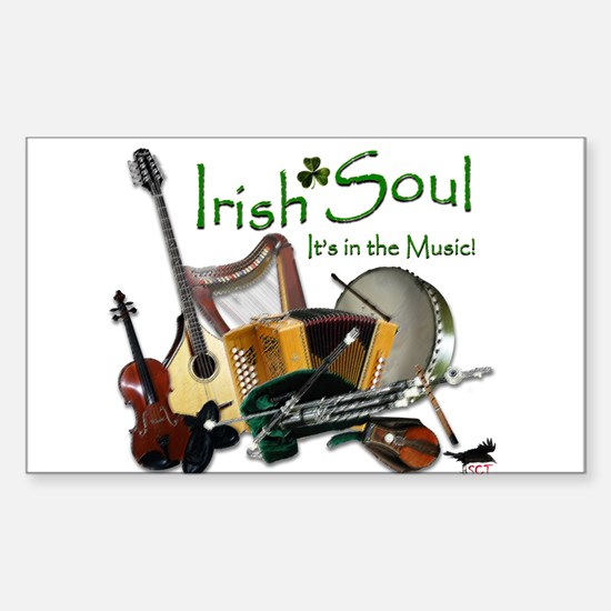 Irish Soul Music Decal