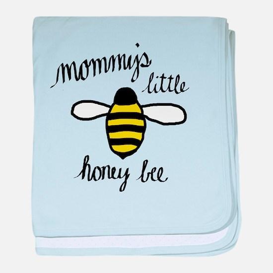 Mommy's Little Honey Bee baby blanket