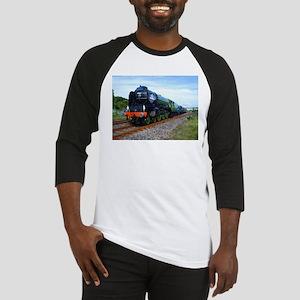Flying Scotsman - Steam Train Baseball Jersey