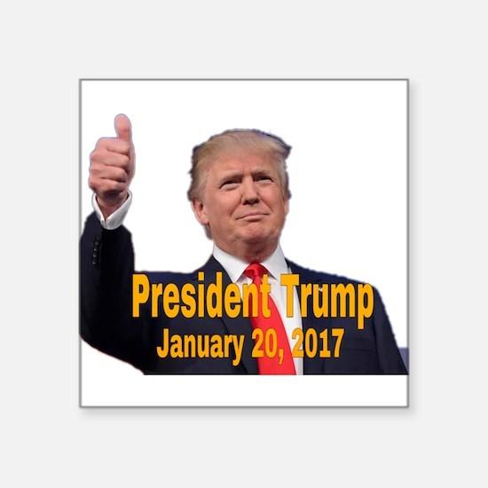 President Trump Sticker