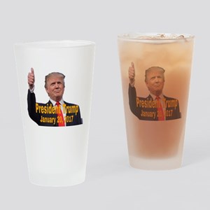 President Trump Drinking Glass