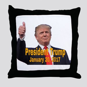 President Trump Throw Pillow