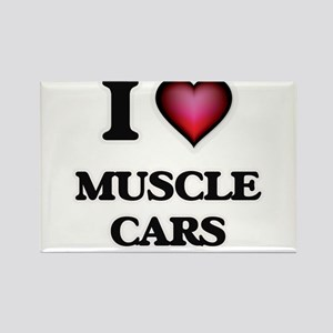 I love Muscle Cars Magnets