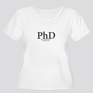 PhD not that kind of Doctor but I'll take a look P