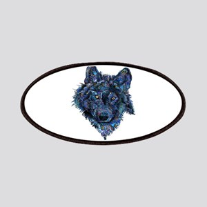 Wild Blue Wolf Patch