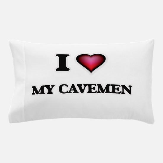 I love My Cavemen Pillow Case