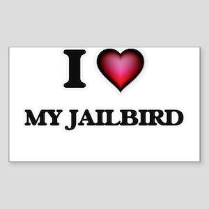 I love My Jailbird Sticker