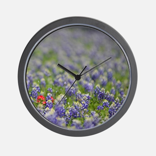 Cute Hill country Wall Clock