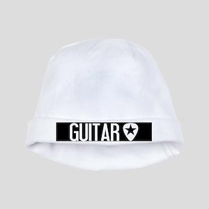 Guitarist: Guitar Pick & Black Star baby hat