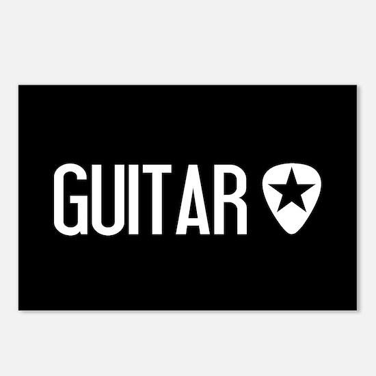 Guitarist: Guitar Pick & Postcards (Package of 8)