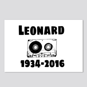 Leonard Postcards (Package of 8)