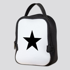 Black Star Neoprene Lunch Bag