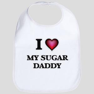 I love My Sugar Daddy Baby Bib