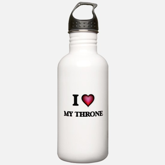 I love My Throne Water Bottle