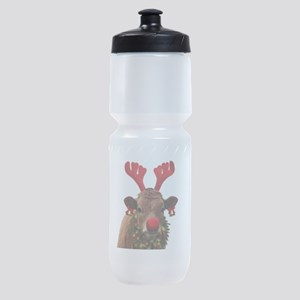 Christmas Cow Sports Bottle