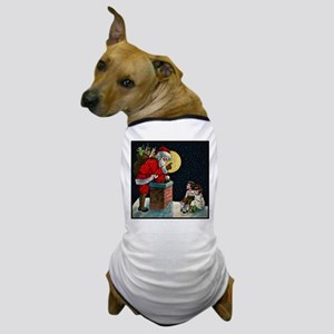 Waiting for Santa Dog T-Shirt